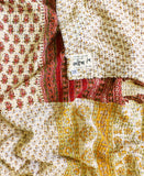 Kantha Throw Quilt - No. 190319 | Anchal Project