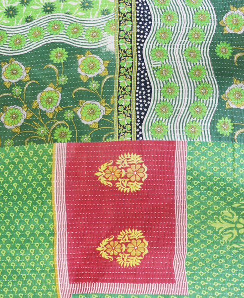 Kantha Throw Quilt - No. 190325 | Anchal Project