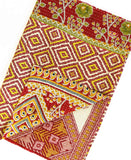 Kantha Throw Quilt - No. 190342 | Anchal Project