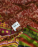 Kantha Throw Quilt - No. 190347 | Anchal Project