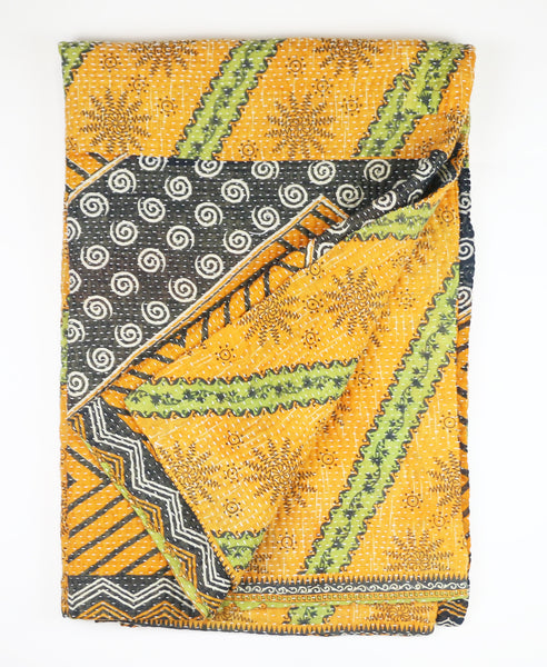 Kantha Throw