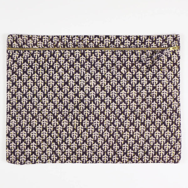 Kantha Oversized Pouch Clutch - No. 180504