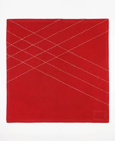 Diamond Napkin - Scarlet | Anchal Project