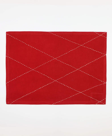 Diamond Placemat - Scarlet | Anchal Project