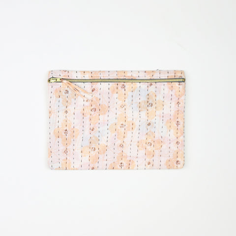 Small Kantha Pouch