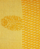 Small Kantha Throw - Canary Motif | Anchal Project