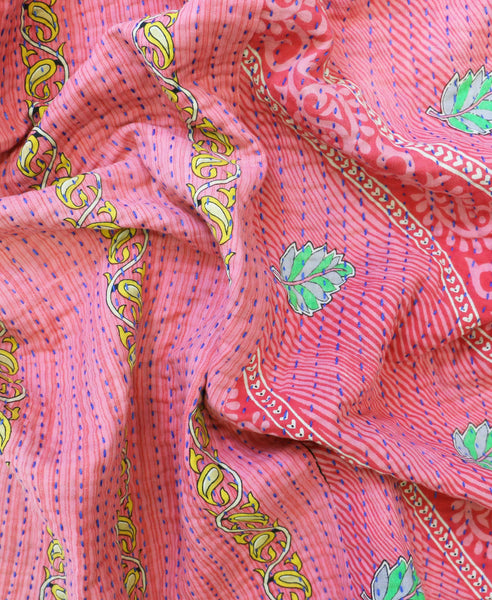 Small Kantha Throw Quilt | Anchal Project