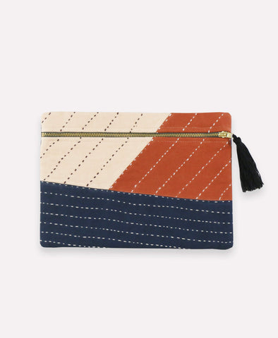 Small Zip Pouch - Autumn | Anchal Project