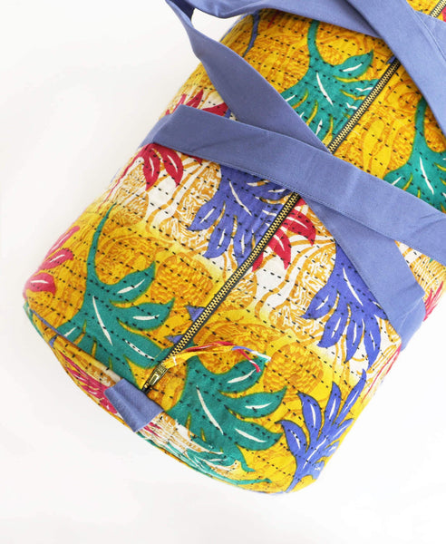 Weekender Travel Bag - Golden Tropical
