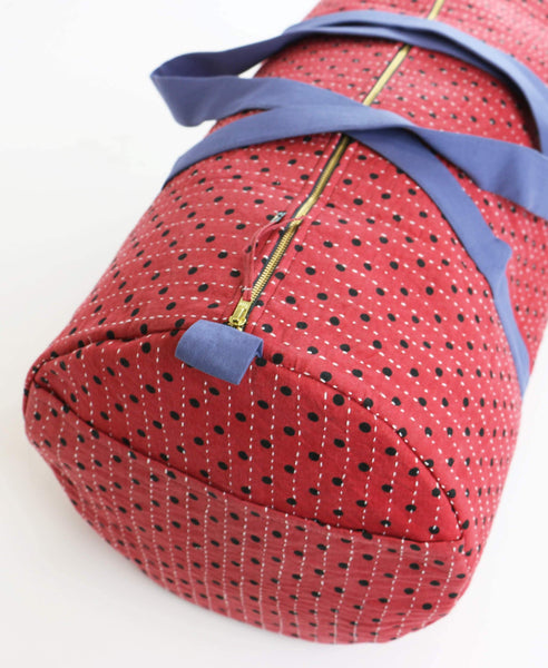 Weekender Travel Bag - Red Ladybug | Anchal Project