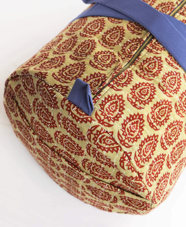Weekender Travel Bag - Scarlet Sunflowers | Anchal Project