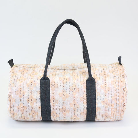 Weekender Travel Bag - Peach Daisy | Anchal Project