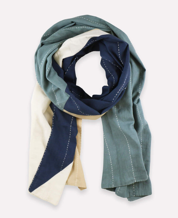 Spruce Colorblock Straight Scarf - Seconds