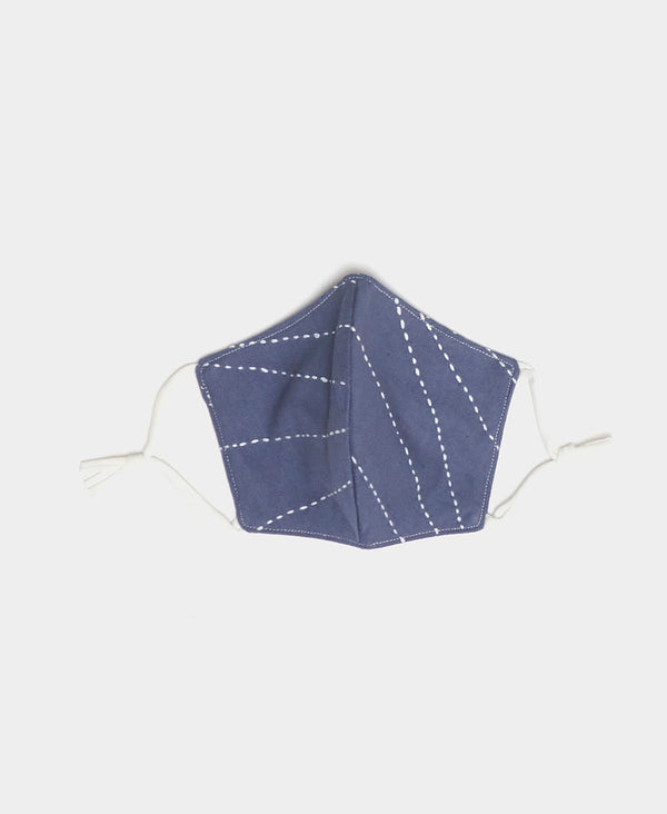 organic cotton reusable cotton face mask with ties and elastic