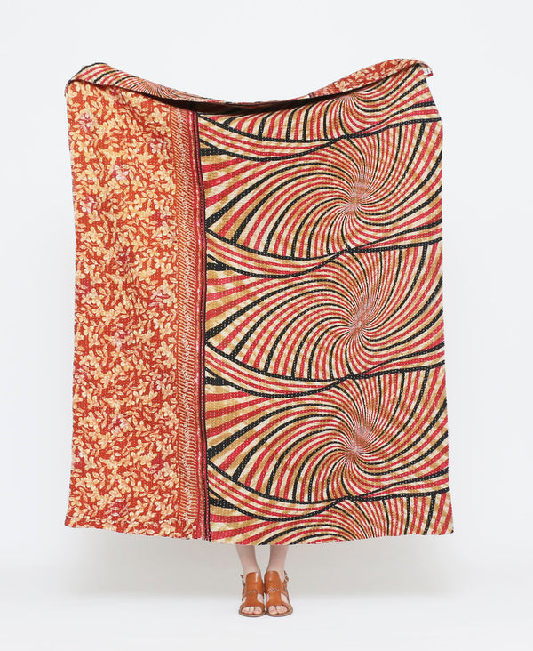 Kantha Quilt Throw - No. 180801