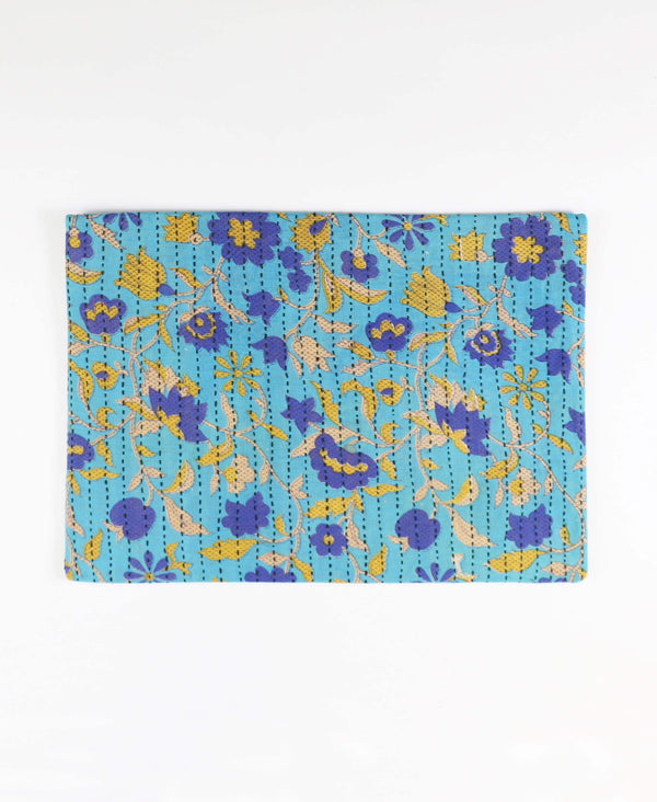 Oversized Kantha Pouch Clutch - No. 190524