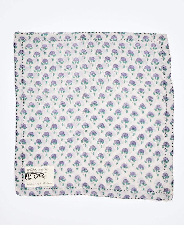 Kantha Pocket Square - No. 180402