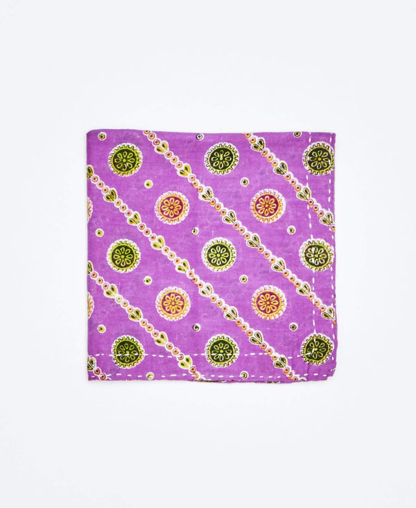 Kantha Pocket Square - No. 180406