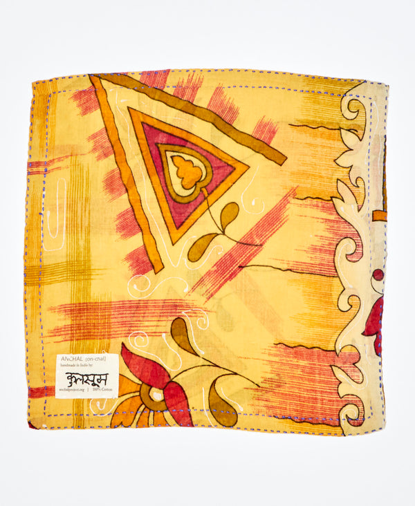 abstract cotton pocket square by Anchal Project