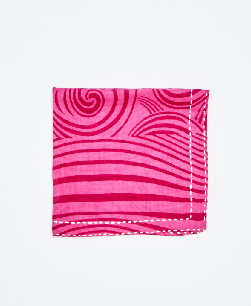 ethical gift ideas handmade pocket square