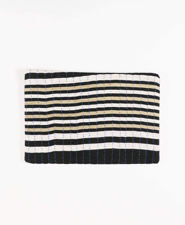 Anchal pouch clutch ethically made from vintage cotton saris