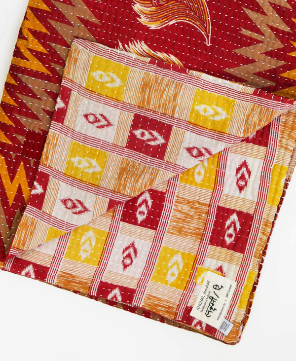 Kantha Quilt Throw - No. 190715