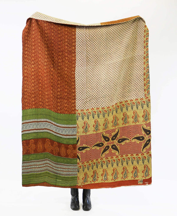 Kantha Quilt Throw - No. 190716