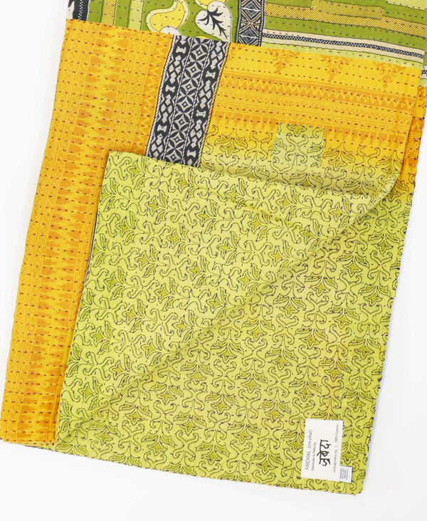 Kantha Quilt Throw - No. 190729