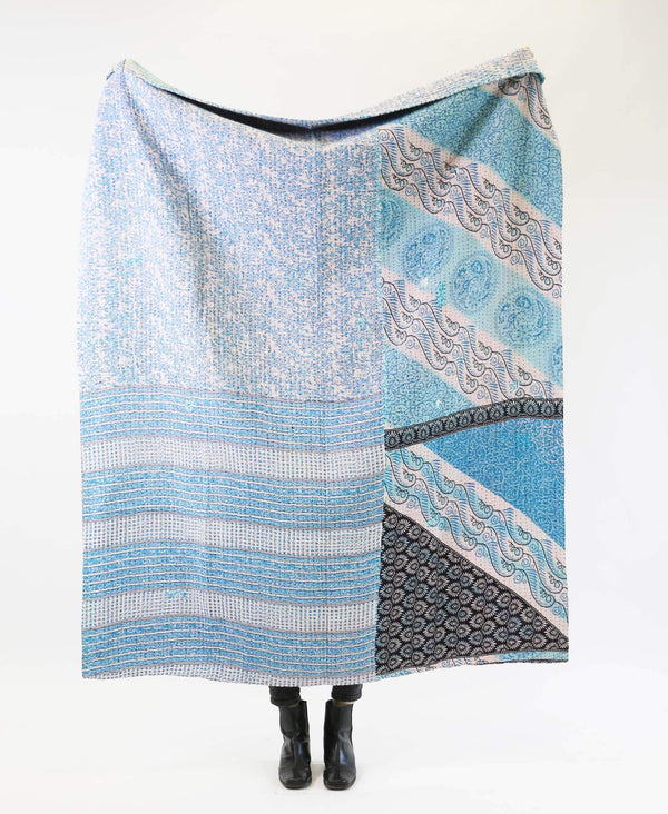 Kantha Quilt Throw - No. 190732