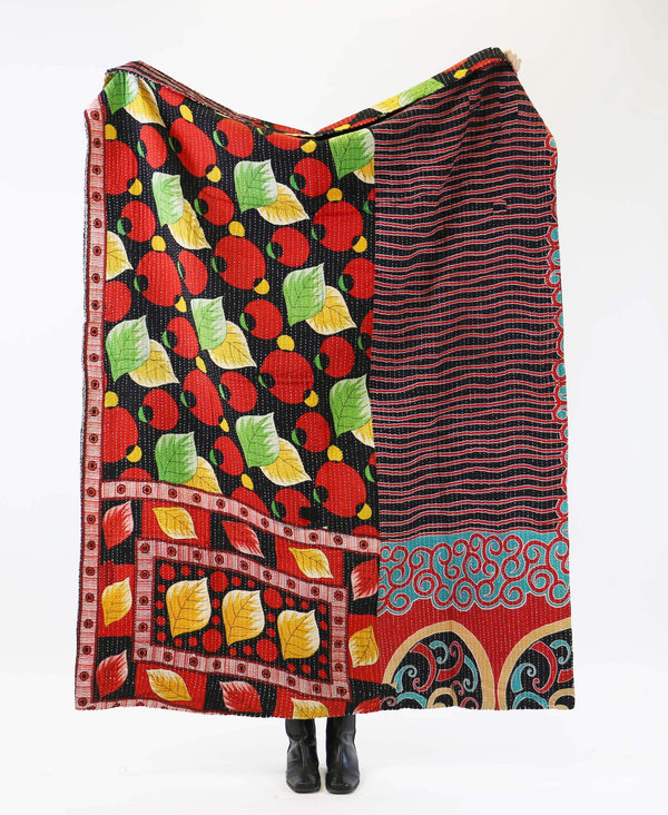 Kantha Quilt Throw - No. 190739
