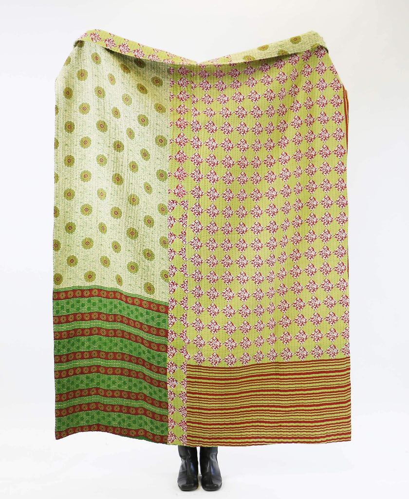 Kantha Quilt Throw - No. 190740