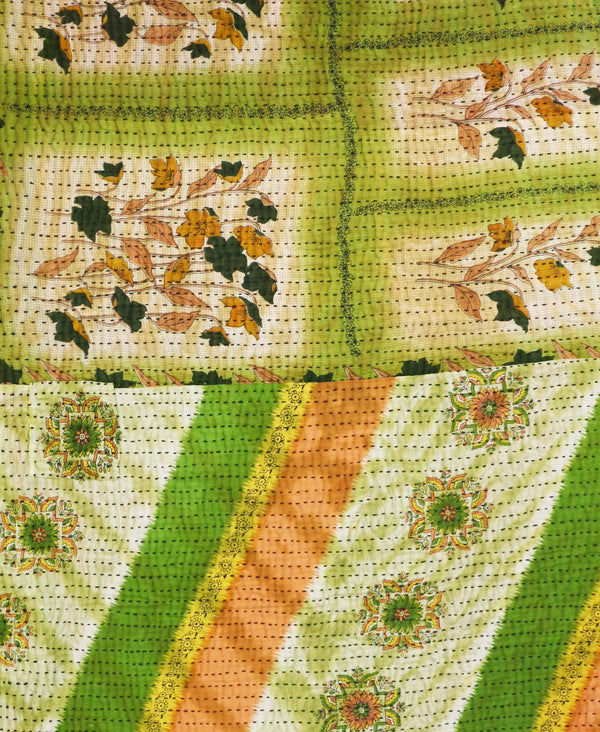 Kantha Quilt Throw - No. 190741