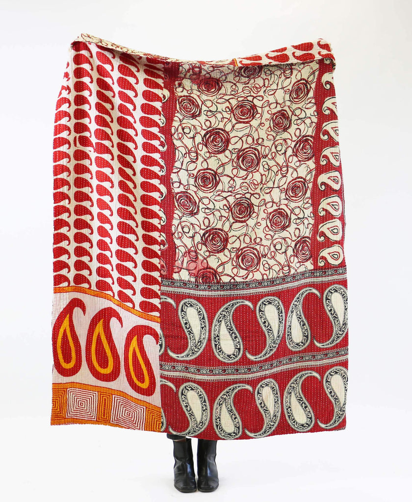 Kantha Quilt Throw - No. 190743