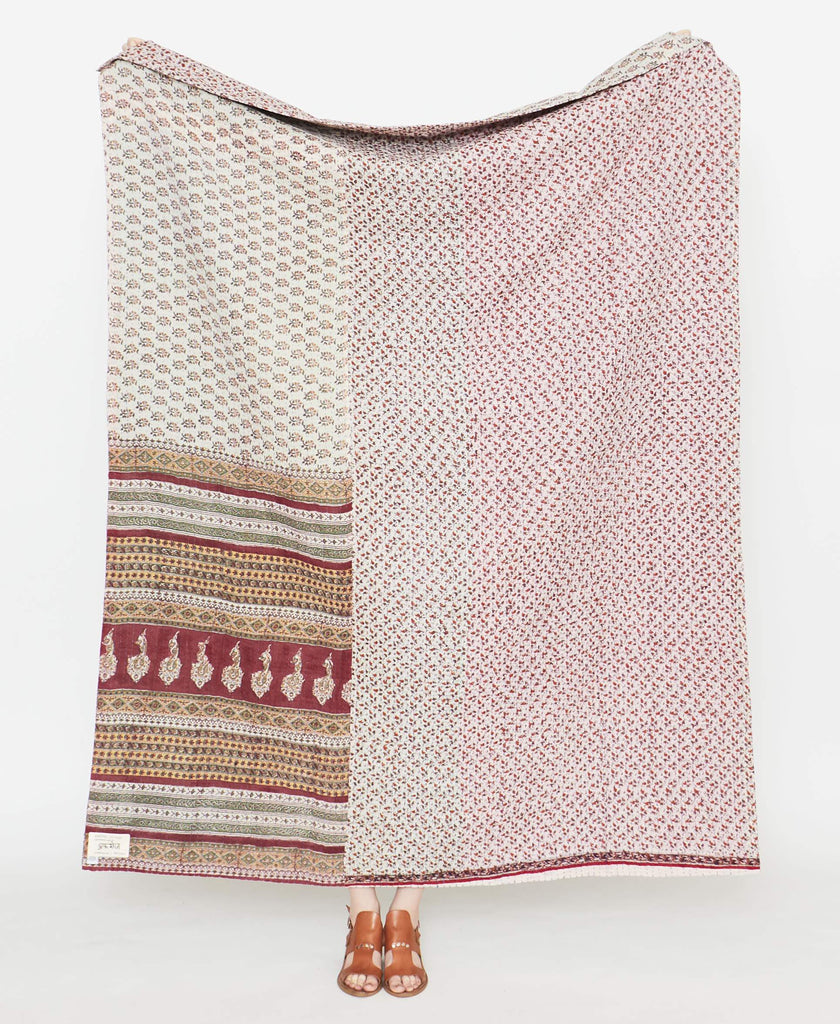 Kantha Quilt Throw - No. 190902