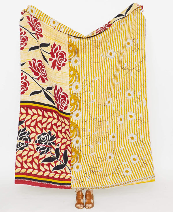 Kantha Quilt Throw - No. 190909
