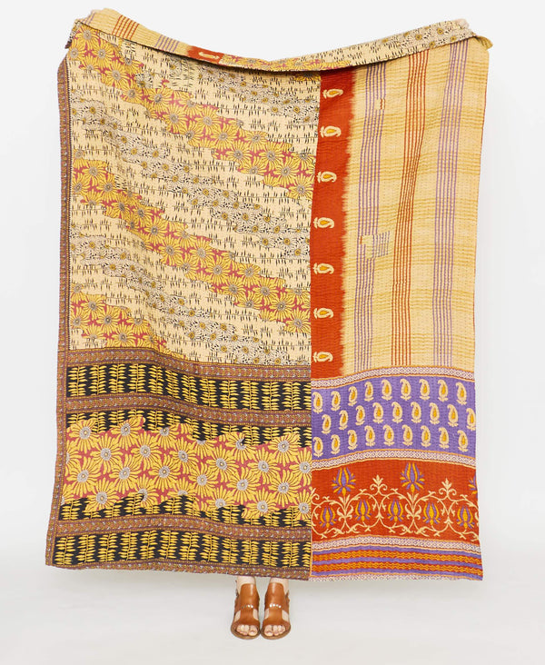 Kantha Quilt Throw - No. 190910