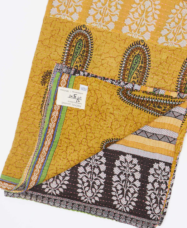 Kantha Quilt Throw - No. 190913