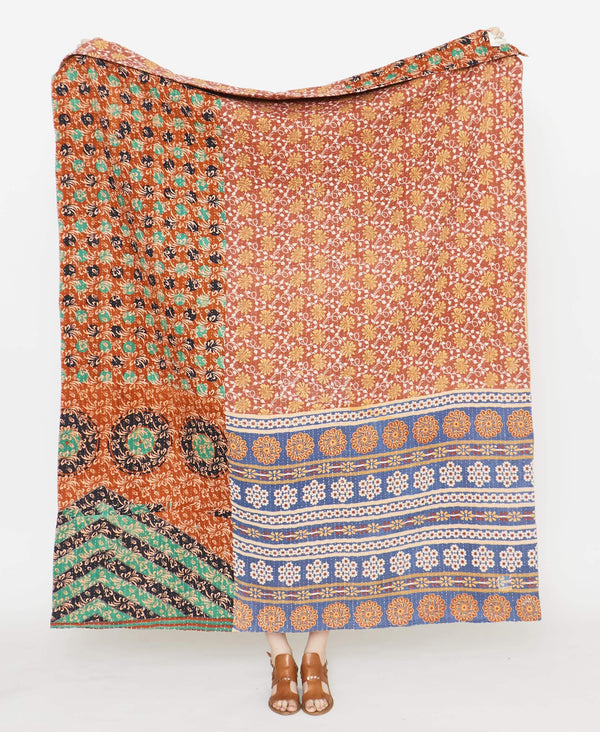 Kantha Quilt Throw - No. 190914