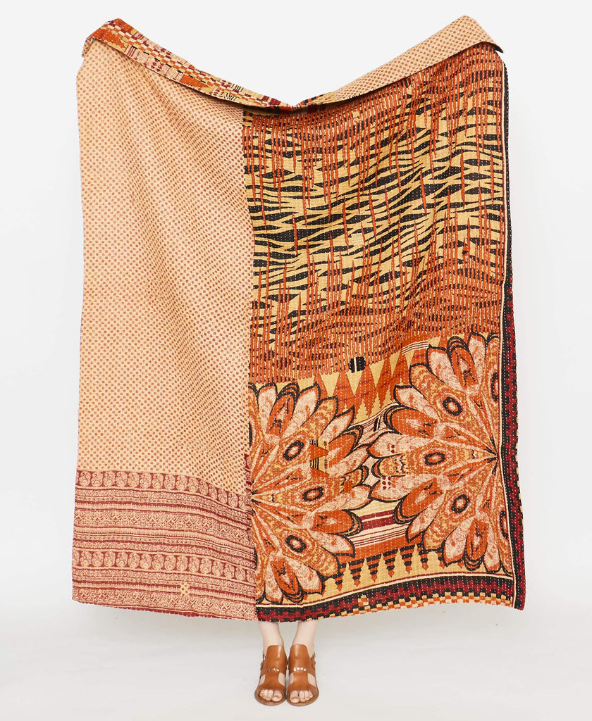 Kantha Quilt Throw - No. 190916