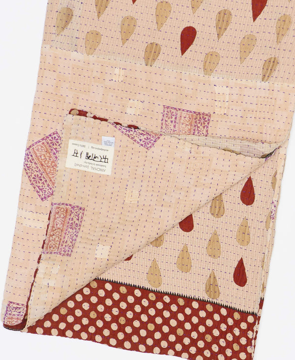 Kantha Quilt Throw - No. 190917