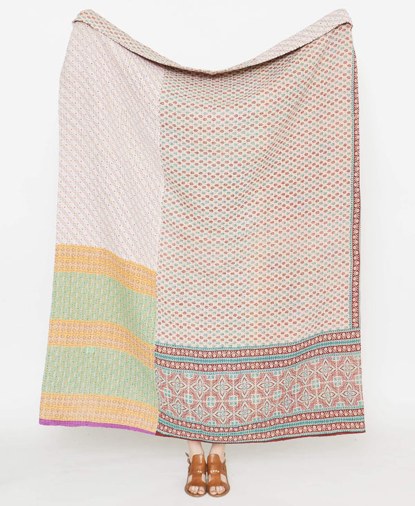 Kantha Quilt Throw - No. 190918