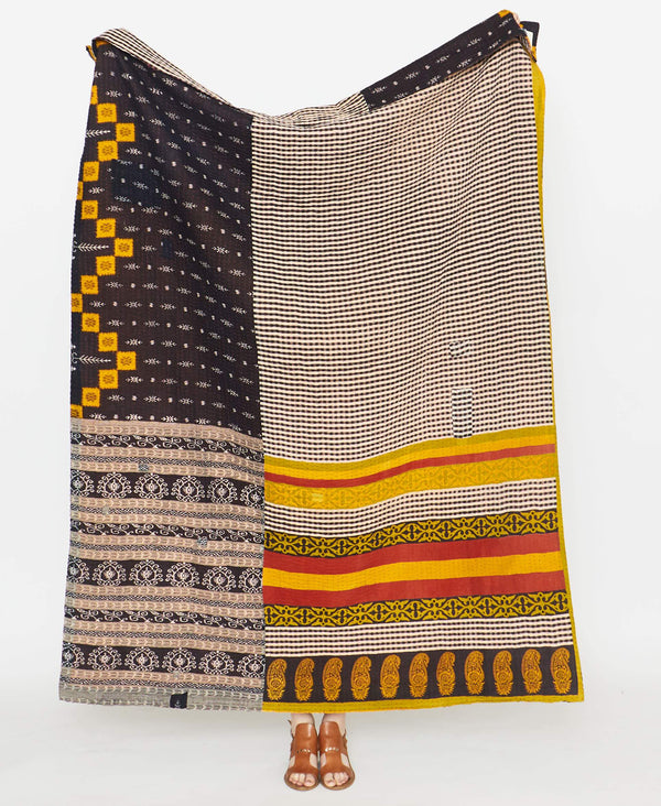 Kantha Quilt Throw - No. 190920