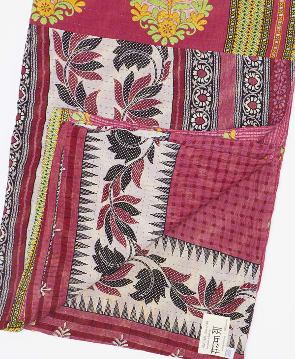 Kantha Quilt Throw - No. 190922