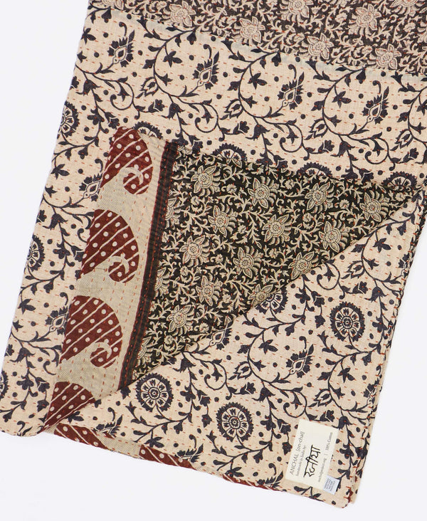Kantha Quilt Throw - No. 190924