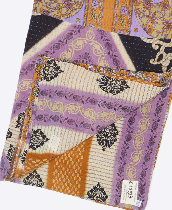 Kantha Quilt Throw - No. 190925