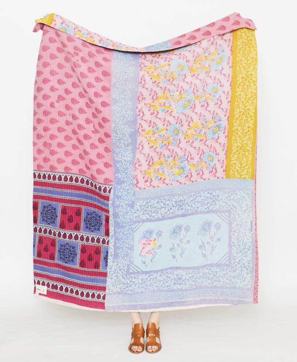 Kantha Quilt Throw - No. 190928