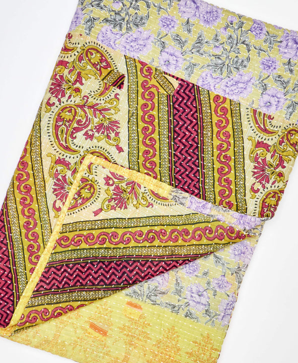 Kantha Quilt Throw - No. 200209