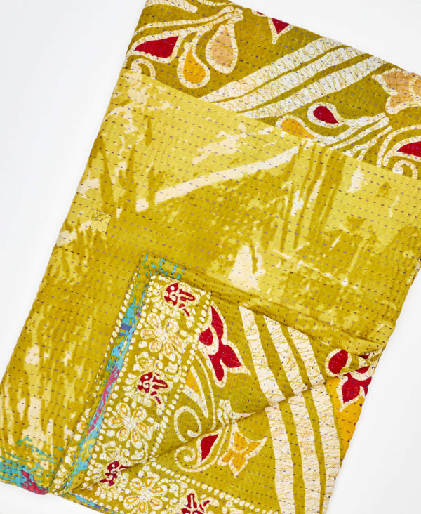 Kantha Quilt Throw - No. 200211
