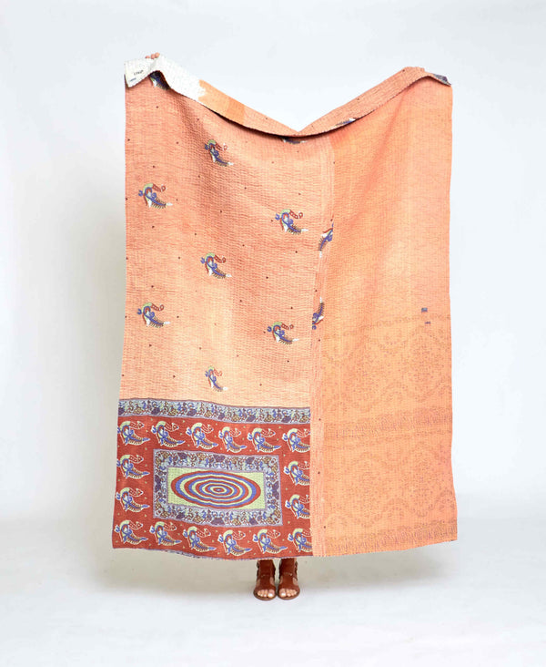 Kantha Quilt Throw - No. 200614