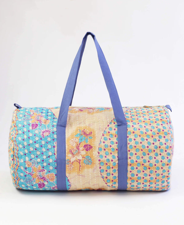 polka dot eco-friendly carry-on travel bag
